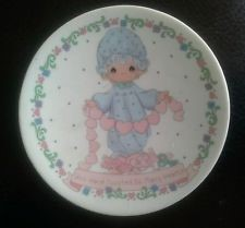 PRECIOUS MOMENTS Collectible Plate/Figurine YOU HAVE TOUCED SO MANY HEARTS