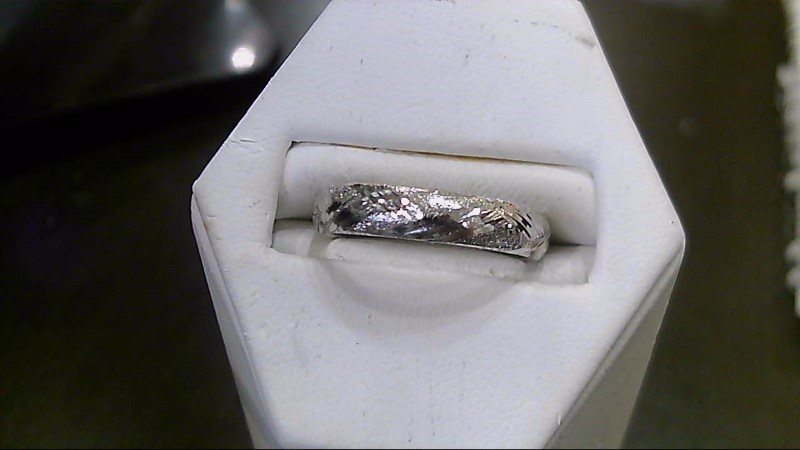 Lady's Gold Ring 10K White Gold 0.8g