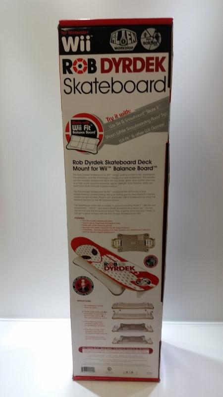 *NEW* Rob Dyrdek Alien Workshop Wii Fit Skateboard Balance Board