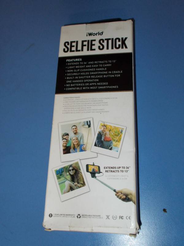 IWORLD Selfie Stick SS1-1000