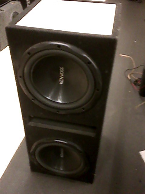 "KENWOOD Car Speakers/Speaker System 12"" SPEAKER"