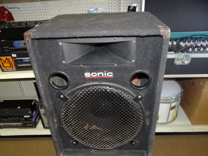 SONIC AUDIO Speakers/Subwoofer SPEAKER