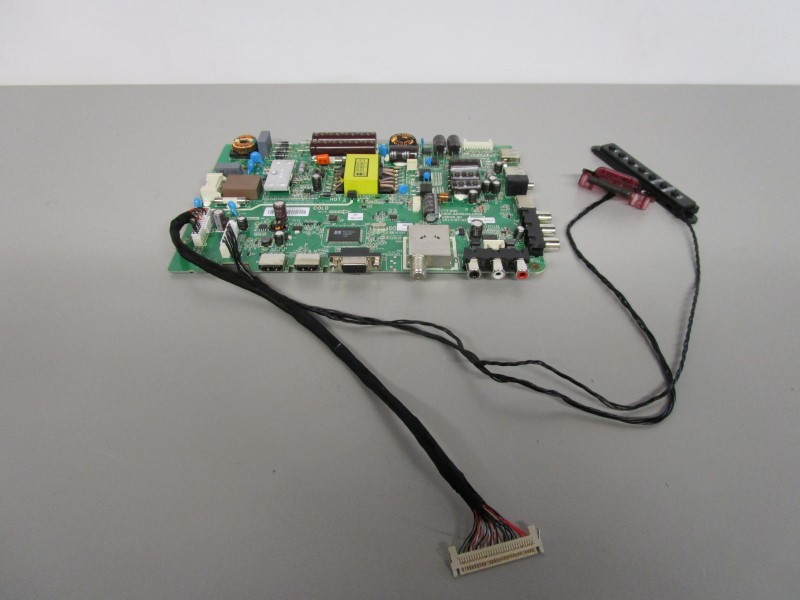 LG 32LF500B FLAT PANEL TELEVISION MAIN BOARD AND OTHER COMPONENTS