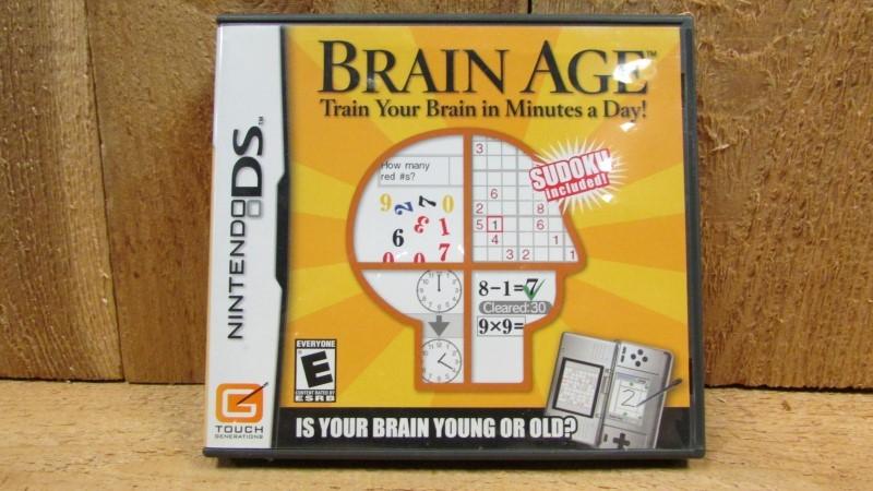 NINTENDO Nintendo DS Game BRAIN AGE