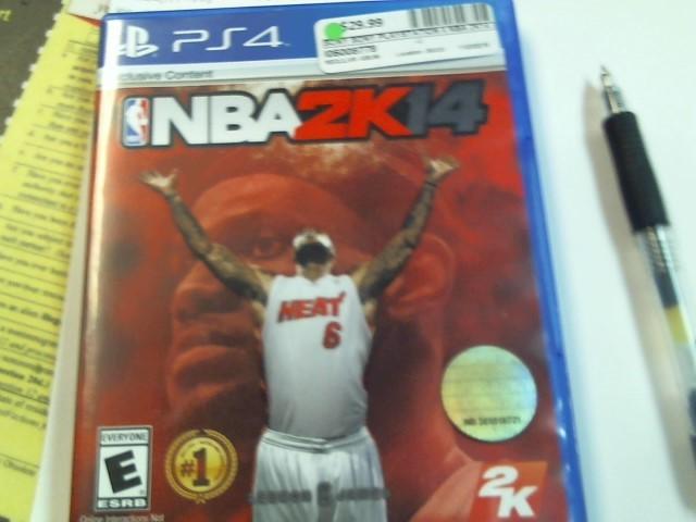 SONY PLAYSTATION 4 NBA 2K14