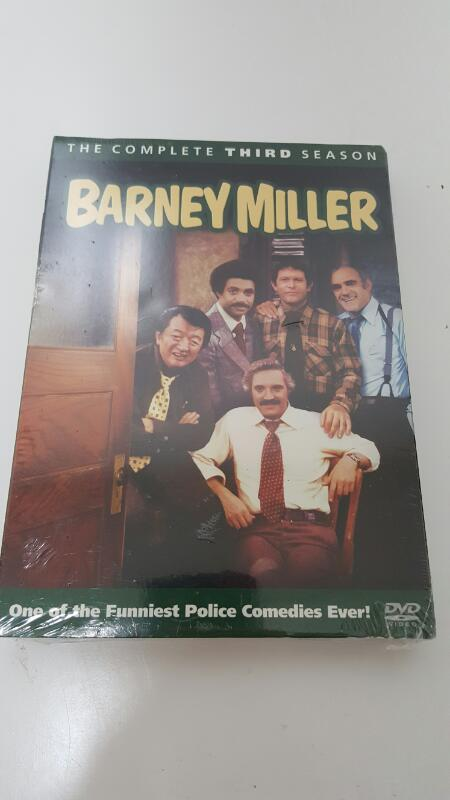 Barney Miller - The Complete Third Season 3 (DVD Set, 2009, 3-disc)