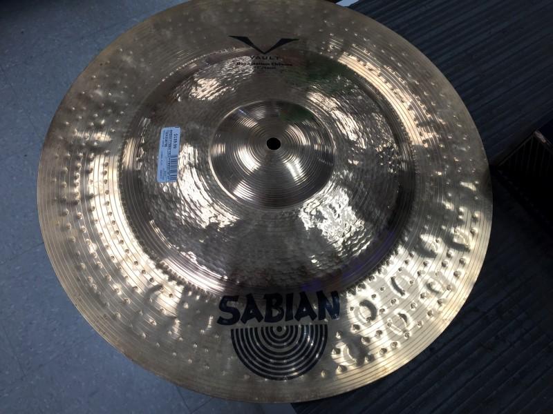 """SABIAN Cymbal VAULT CRASH 16"""" 41CM"""