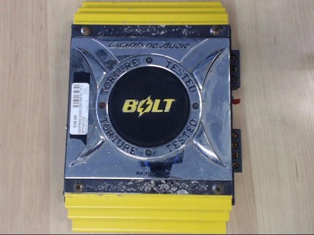 LIGHTNING AUDIO Car Amplifier B2.150.2 BOLT 500 WATT AMPLIFIER