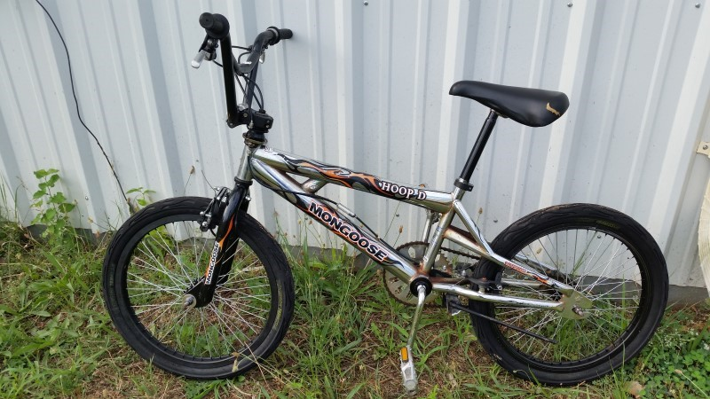 "Mongoose 20"" Hoop D Boys' BMX Bike"