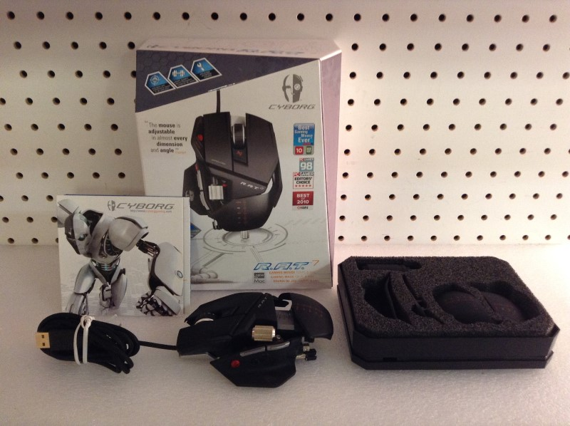 MAD CATZ Video Game Accessory CYBORG R.A.T. 7