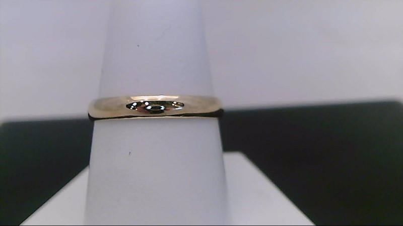 Gent's Gold Wedding Band 10K Yellow Gold 2g