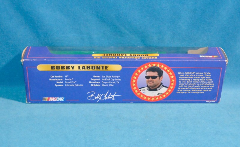WINNERS CIRCLE 28227 BOBBY LABONTE TRAILER RIG #18 INTERSTATE BATTERIES