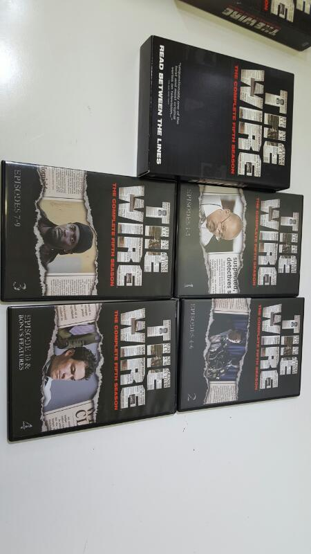 The Wire The Complete Fifth Season 5 on DVD