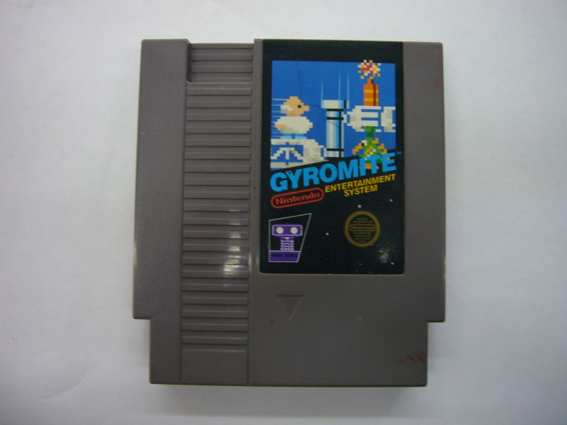 NINTENDO NES Game GYROMITE *CARTRIDGE ONLY*