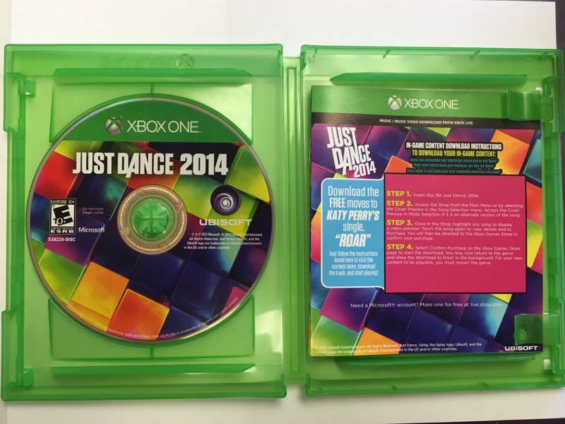 JUST DANCE 2014 - (MICROSOFT XBOX ONE, 2013)