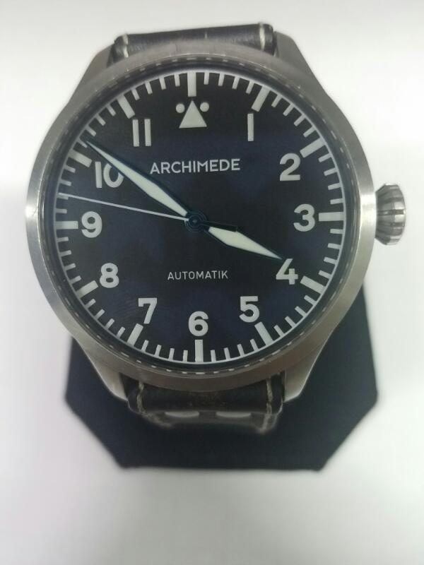 ARCHIMEDE NON-GOLD WATCH M'S OTHER WATCH   BLK