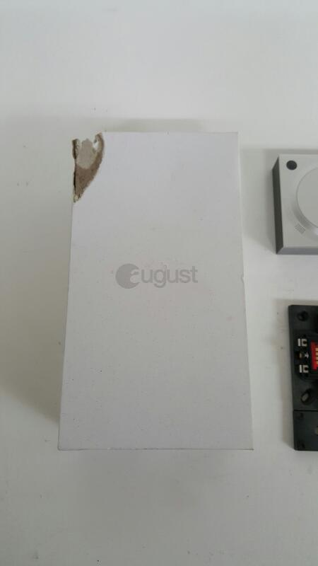 August Doorbell Camera (Cam) Silver AUG-AB01-M01-S01