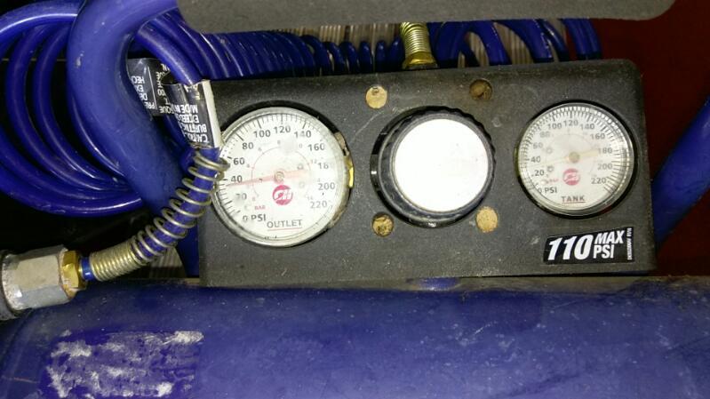 CAMPBELL HAUSFELD AIR COMPRESSOR MODEL FP209501