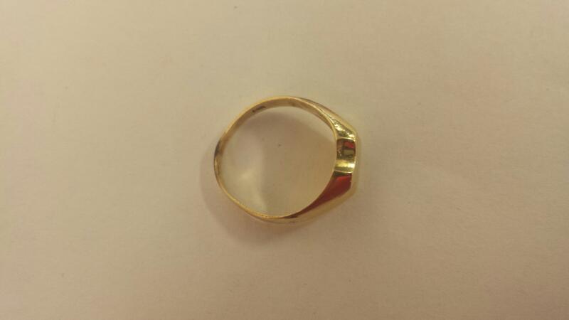 Lds 14K-Y/G Signet Ring