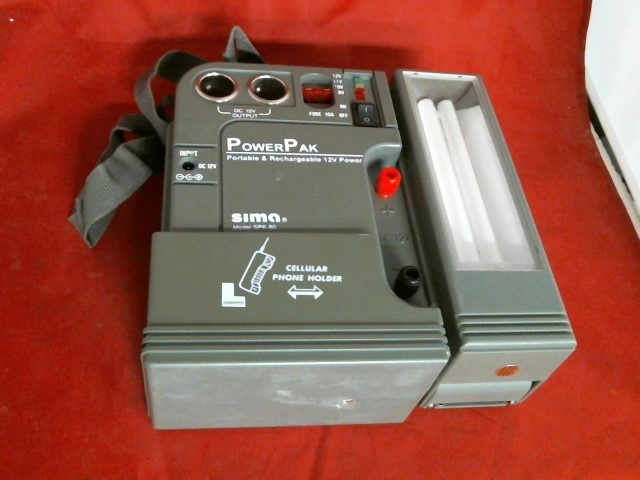 POWERPAK Battery/Charger SPK-80