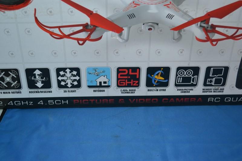 Drone Radio Control/Control Line 34937 STRIKER SPY DRONE