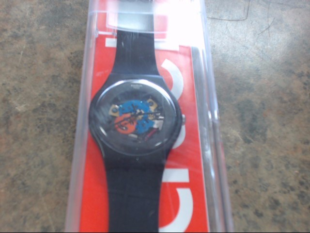 SWATCH Gent's Wristwatch NONE (CHECK FOR MODEL ON BACK OF CASE)