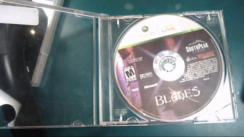MICROSOFT Microsoft XBOX 360 Game X BOX 360 BLADES