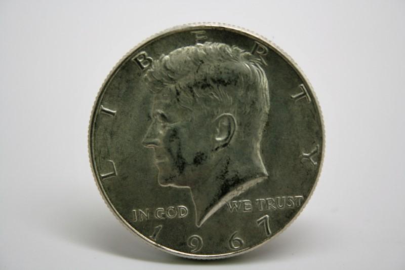 UNITED STATES 1967 KENNEDY - 1/2 DOLLAR