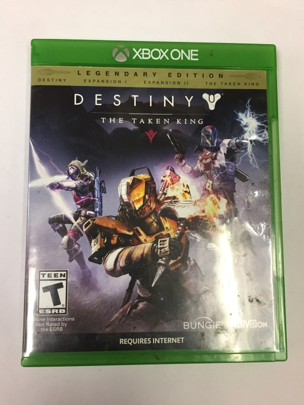 MICROSOFT XBOX ONE DESTINY THE TAKEN KING XBO **READ DESCRIPTION**