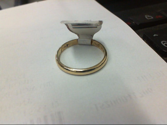 Lady's Gold Ring 14K Yellow Gold 1.9g