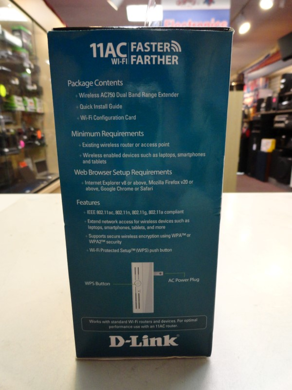 D-Link DAP-1520 Wi-Fi Dual Band Range Extender