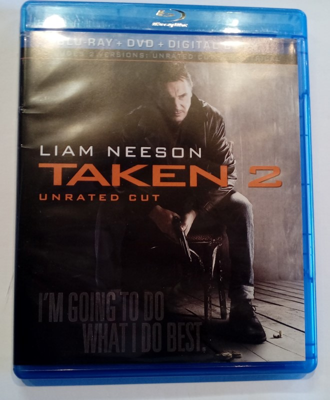 BLU-RAY MOVIE TAKEN 2