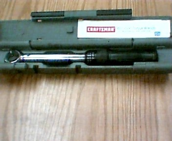 CRAFTSMAN Torque Wrench 944593 TORQUE WRENCH