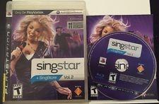 SONY PS3 SINGSTAR+ SINGSTORE VOL 2