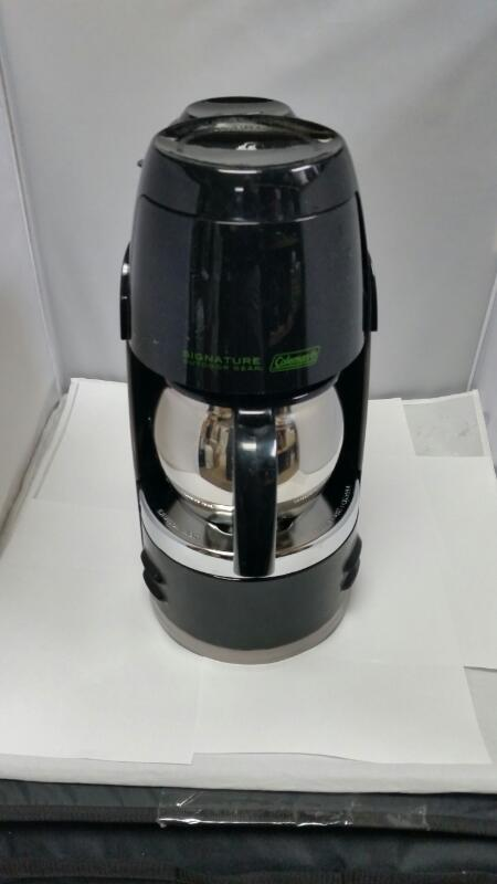 COLEMAN PORTABLE PROPANE COFFEE POT