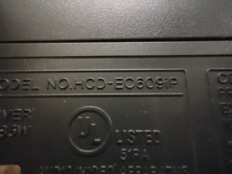 SONY Mini-Stereo HCD-EC609IP