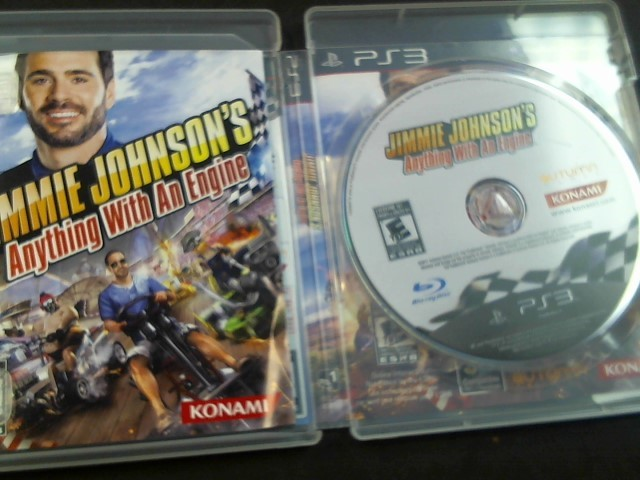 PlayStation 3 Game JIMMIE JOHNSON'S ANYTHING WITH AN ENGINE