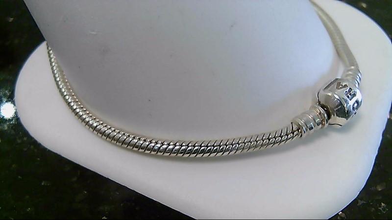 """9"""" Pandora Silver Fashion Bracelet 925 Silver 15.8g"""