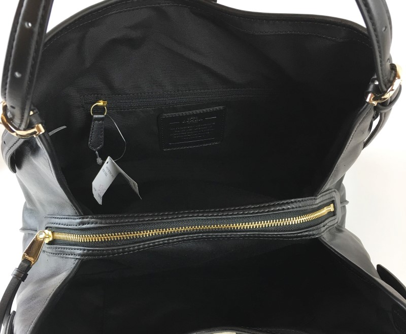 COACH MADISON SIGNATURE CARRYALL SHOULDER BAG