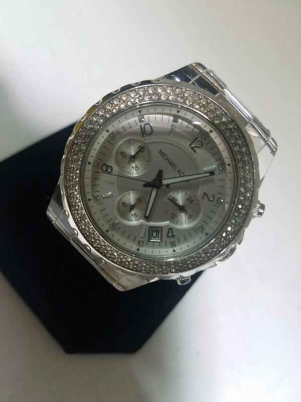 MICHAEL_KORS MK-5337 NON-GOLD WATCH    SILVER