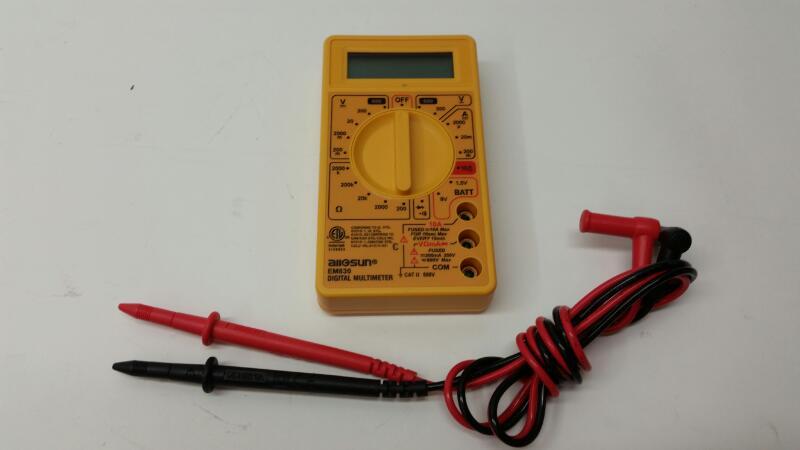 All Sun Multimeter EM830