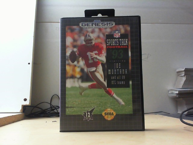 SEAGATE Sega Game SPORTS TALK FOOTBALL 93
