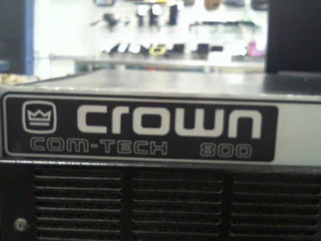 CROWN ELECTRIC DJ Equipment COM-TECH 800