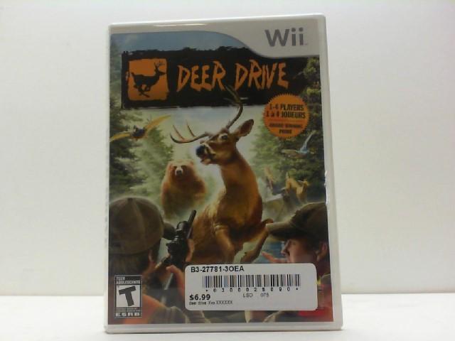 NINTENDO Nintendo Wii Game DEER DRIVE-WII