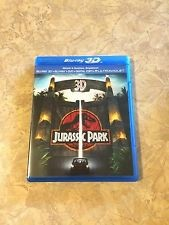 BLU-RAY MOVIE Blu-Ray JURASSIC PARK 3D