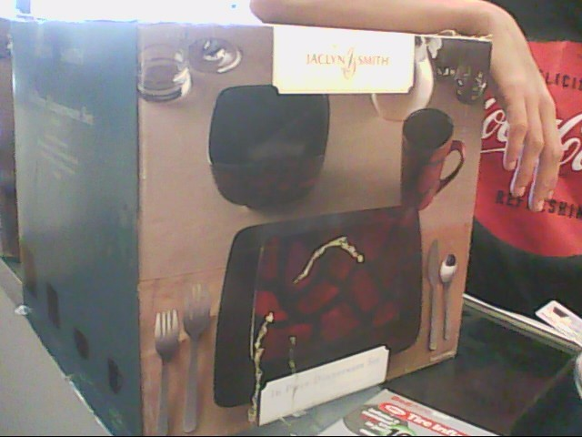 JACLYN SMITH Glassware 16 PC DINNER SET