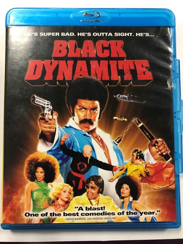 BLACK DYANMITE BLU-RAY MOVIE