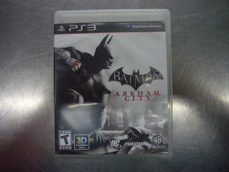 SONY PlayStation 3 Game BATMAN ARKHAM CITY