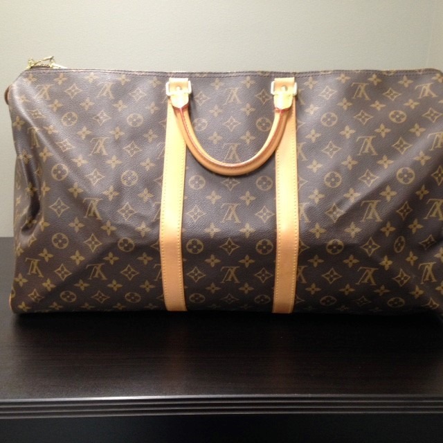 LOUIS VUITTON Handbag KEEPALL 55 - MONOGRAM