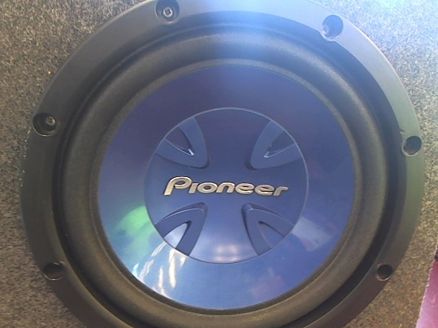 """PIONEER 12"""" SUBWOOFER WITH ENCLOSURE"""